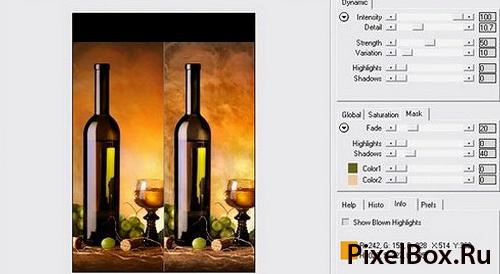 Плагин Contrast для фотошопа - работа с цветом 1