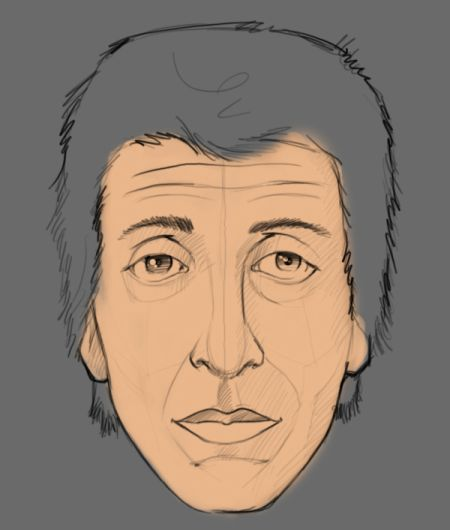 Рисуем лицо в фотошопе 4
