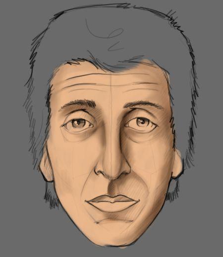 Рисуем лицо в фотошопе 7
