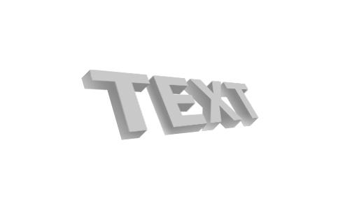 3d текст в фотошопе 7