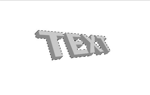 3d текст в фотошопе 6