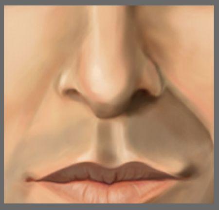 Рисуем лицо в фотошопе 27