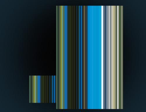Как растянуть пиксели и получить трехмерные блоки 5