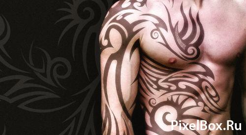 кисти для фотошопа татуировки