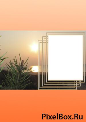 Рамка для фотографии - Пейзаж 1
