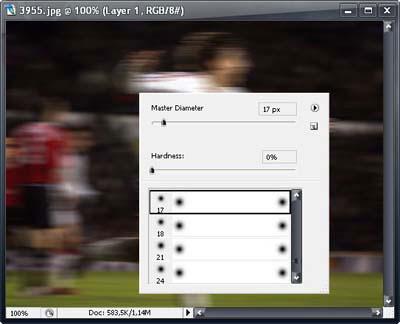 Эффект скорости в фотошопе на фотографии 5