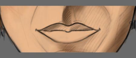 Рисуем лицо в фотошопе 16