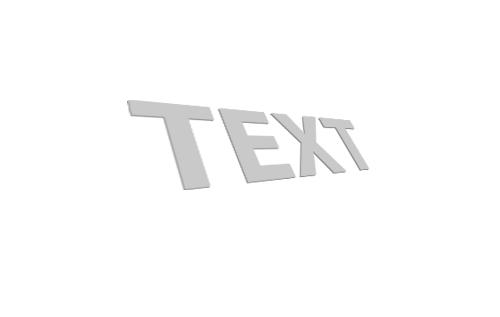 3d текст в фотошопе 4