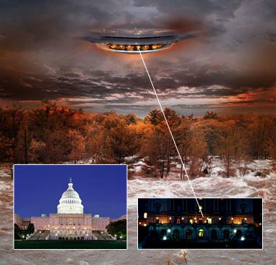 Инопланетное вторжение коллаж 7