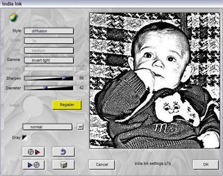 Плагин для создания черно-белых фотографий 1