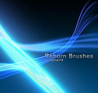 Абстрактный набор кистей Reborn для фотошопа