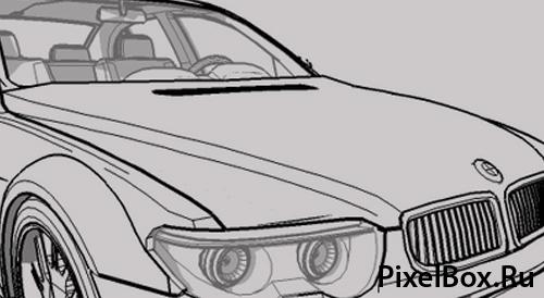 Кисти BMW автомобиль 1