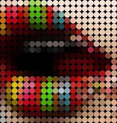 Красивый эффект мозаики в фотошопе 1