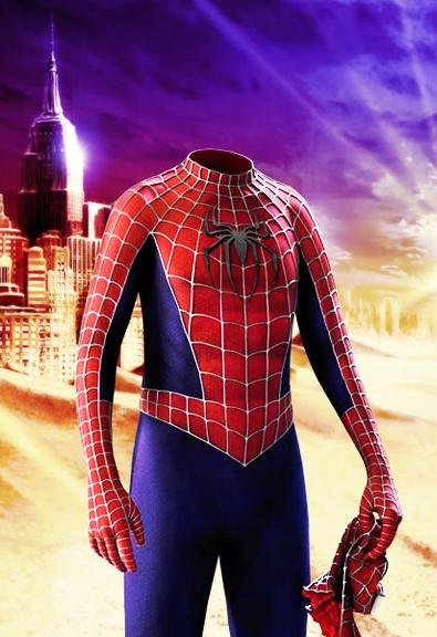 Шаблон для фото - Spiderman 1