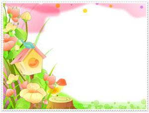 Рамка для фотографии - весна 1