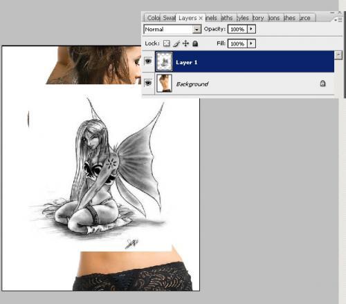 Создание татуировки на теле, фотография 4