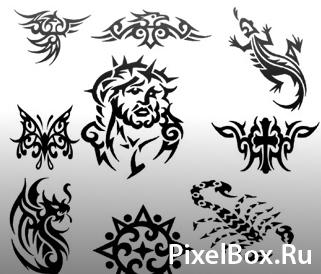 Фигура - Татуировки 1