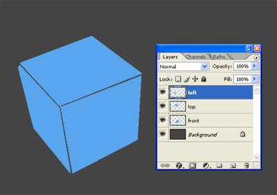 3d куб из льда 2