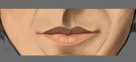 Рисуем лицо в фотошопе 21