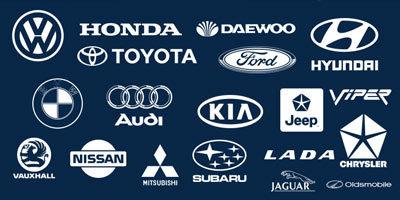 Фигуры значков автомобильных марок для фотошопа 2