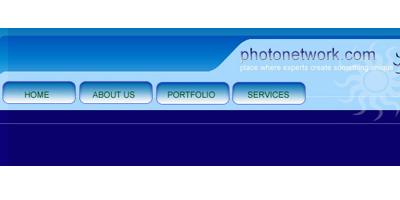Простенькое меню сайта в фотошопе для начинающих