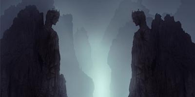 Создаем в фотошоп таинственный пейзаж в стиле Matte Painting