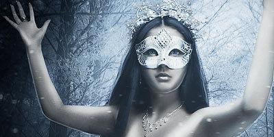 Создаем в фотошоп потрясающую зимнюю фотоманипуляцию с принцессой