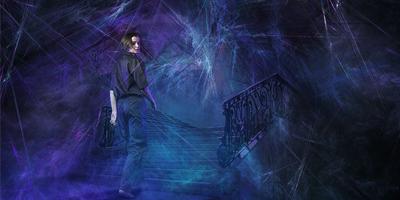 Создаем в фотошоп мечтательную фотоманипуляцию из фракталов