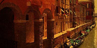 Старая Венеция - работа с фотографией
