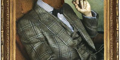 Шаблон для фото - Портрет мужчины