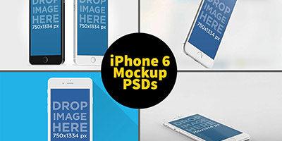 Iphone 6 PSD Mock-up