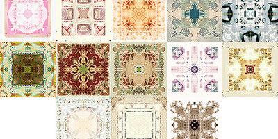 Плиточные и ковровые паттерны