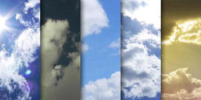 Большие изображения облаков
