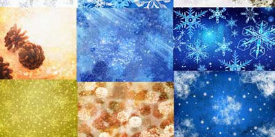 Текстура с новогодними темами