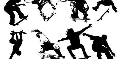 Фигуры скейтбордистов