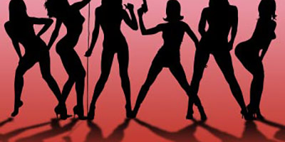 Фигуры танцующих девушек