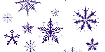 Фигуры - Снежинки