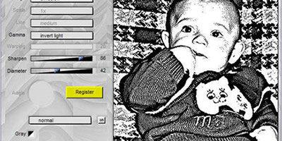 Плагин для создания черно-белых фотографий
