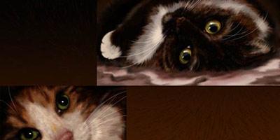 Кисти кошачья шерсть
