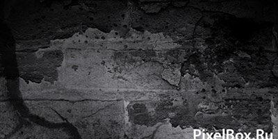 Подборка кистей в виде стен и трещин