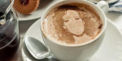 Видеоурок - Ваше фото на кофейной пенке