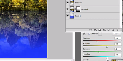 Видеоурок - Отражение в воде