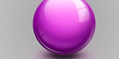 Глянцевый шар