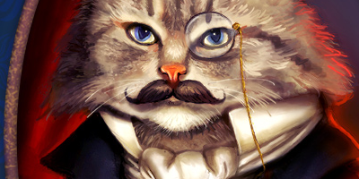 Рисуем кота в фотошопе