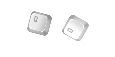 Урок фотошопа - клавиатурная кнопка