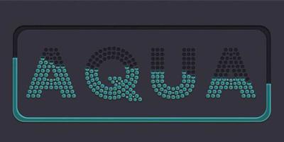 Создаем точечный матричный текстовый эффект в Adobe Photoshop