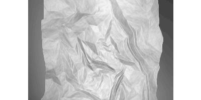 Эффект мятой бумаги