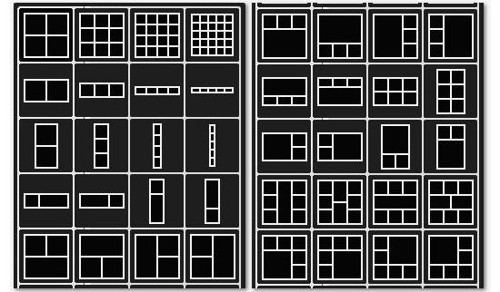 шаблоны для фото коллажей