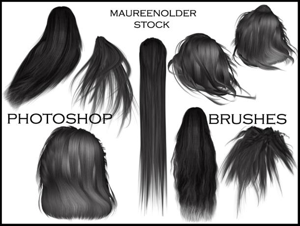 набор кистей для волосы волосы