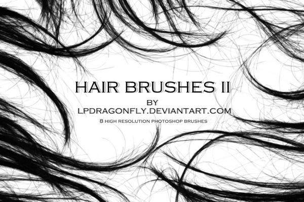 Набор кистей из волос - 2